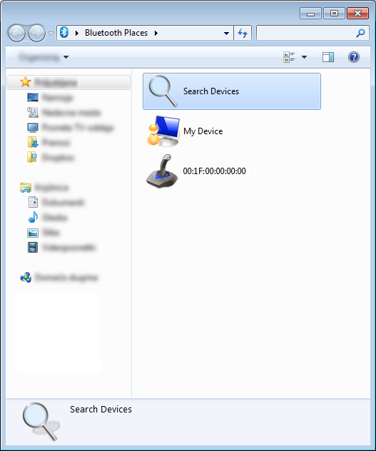 How to get a wiimote mac address